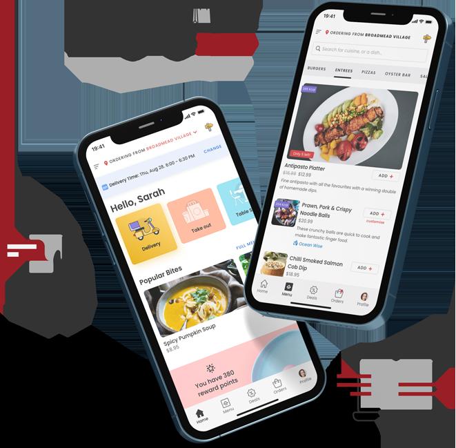 Branded Mobile Ordering Apps